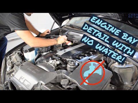 ENGINE BAY DETAIL WITH NO WATER: Optimum No Rinse!
