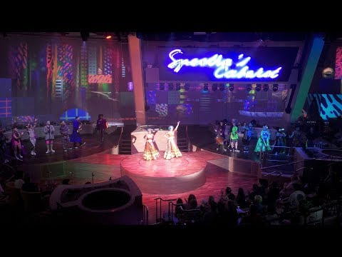 Royal Caribbean Anthem of the Seas Spectra's Cabaret - Full Show - Wide Angle GoPro Camera