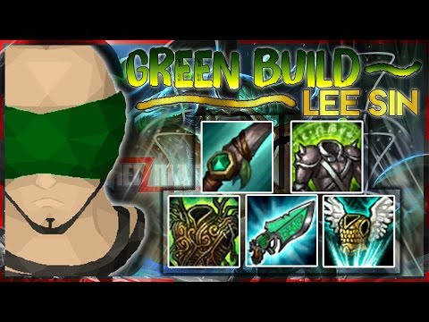Green Build Lee Sin Highlights | Lee Sin Build Challenge (League of Legends)