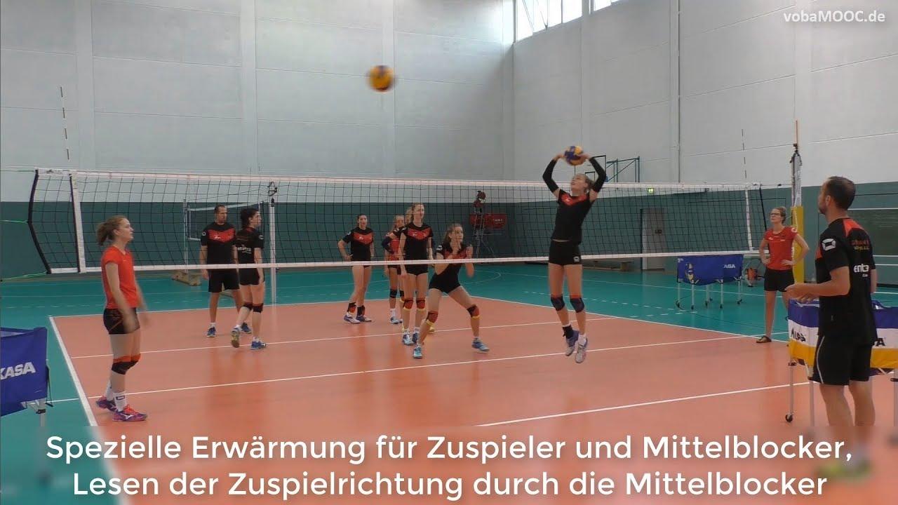 Volleyball block handhaltung
