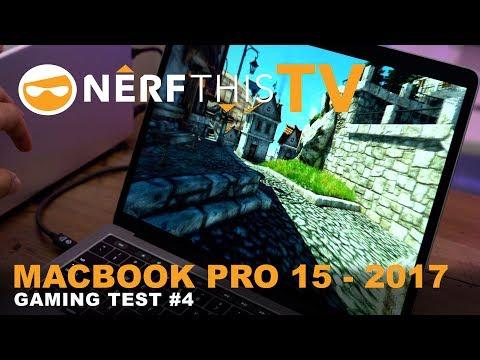 ♠ MacBook Pro 15 2017 | Gaming Test #3 | Elder Scrolls Online | 4K