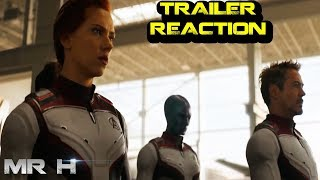 Avengers Endgame Trailer 2 Reaction Review