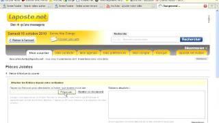 Comment envoyer un fichier en pièce jointe par email ?
