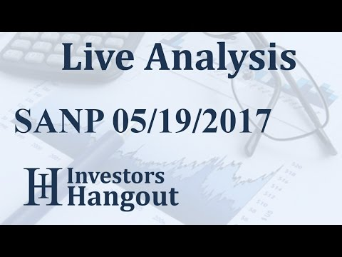 SANP Stock Live Analysis 05-19-2017