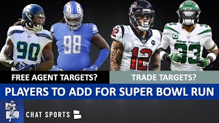 Dallas Cowboys Top Free Agent & Trade Targets To Make A Super Bowl Run In 2020