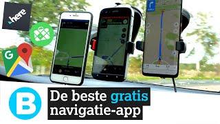 TEST: Welke GRATIS navigatie-app is beter dan Google Maps? Video