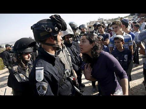 اشتباكات بين مستوطنين والشرطة الإسرائيلية في الضفة الغربية