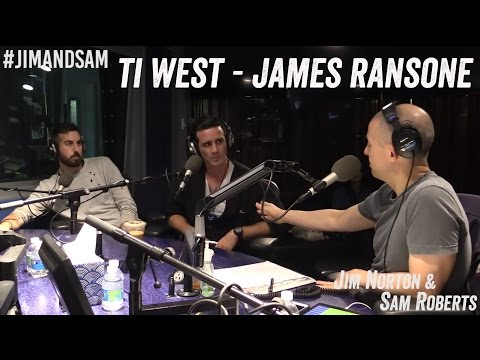Ti West & James Ransone - Discuss 'In a Valley of Violence' - Jim Norton & Sam Roberts