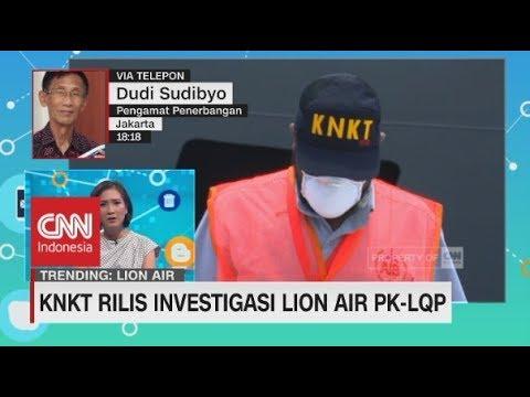 KNKT Beri Rekomendasi Maskapai Lion Air, Ini Kata Pengamat Penerbangan