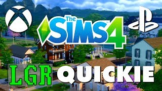 LGR – The Sims 4 Console Review (Xbox One, PS4)