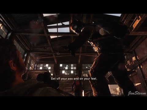 Bill's Trap Encounter Grounded Hardest Difficulty - The Last Of Us Remaster