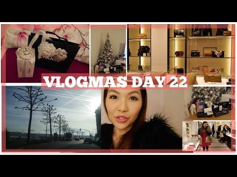 VLOGMAS DAY 22: Window Shopping in Chanel♥ | Angelbirdbb