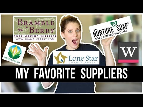 My Favorite Companies (+ SAVE MONEY ON SUPPLIES) | Royalty Soaps