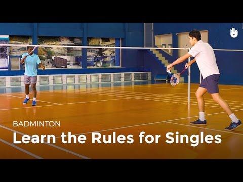 Singles Rules | Badminton