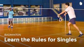 Singles Rules   Badminton