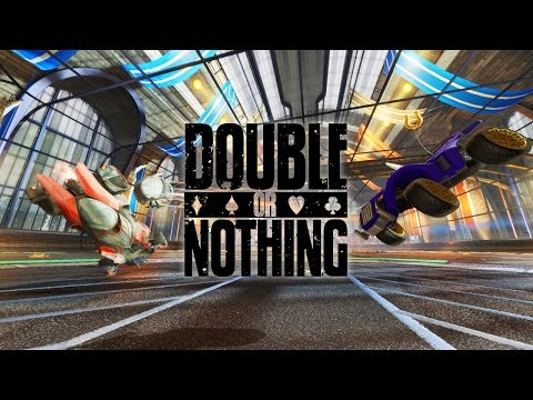 DOUBLE OR NOTHING! Rocket League Bet #2