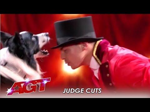 Lucas & Falco: The Dog Act SLAYS Simon Cowell's Favorite Movie | America's Got Talent 2019