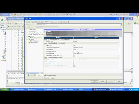 Informatica : Partitioning Basic Example - Part 1