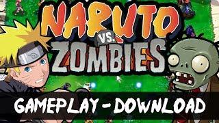 Gambar cover Naruto VS Zombies - Gameplay - Trailer - Download