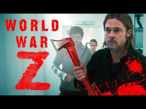 Брэд Питт спасает мир от зомби! «Мировая война Z» Посмотрим, почитаем - 002 КиноКнига