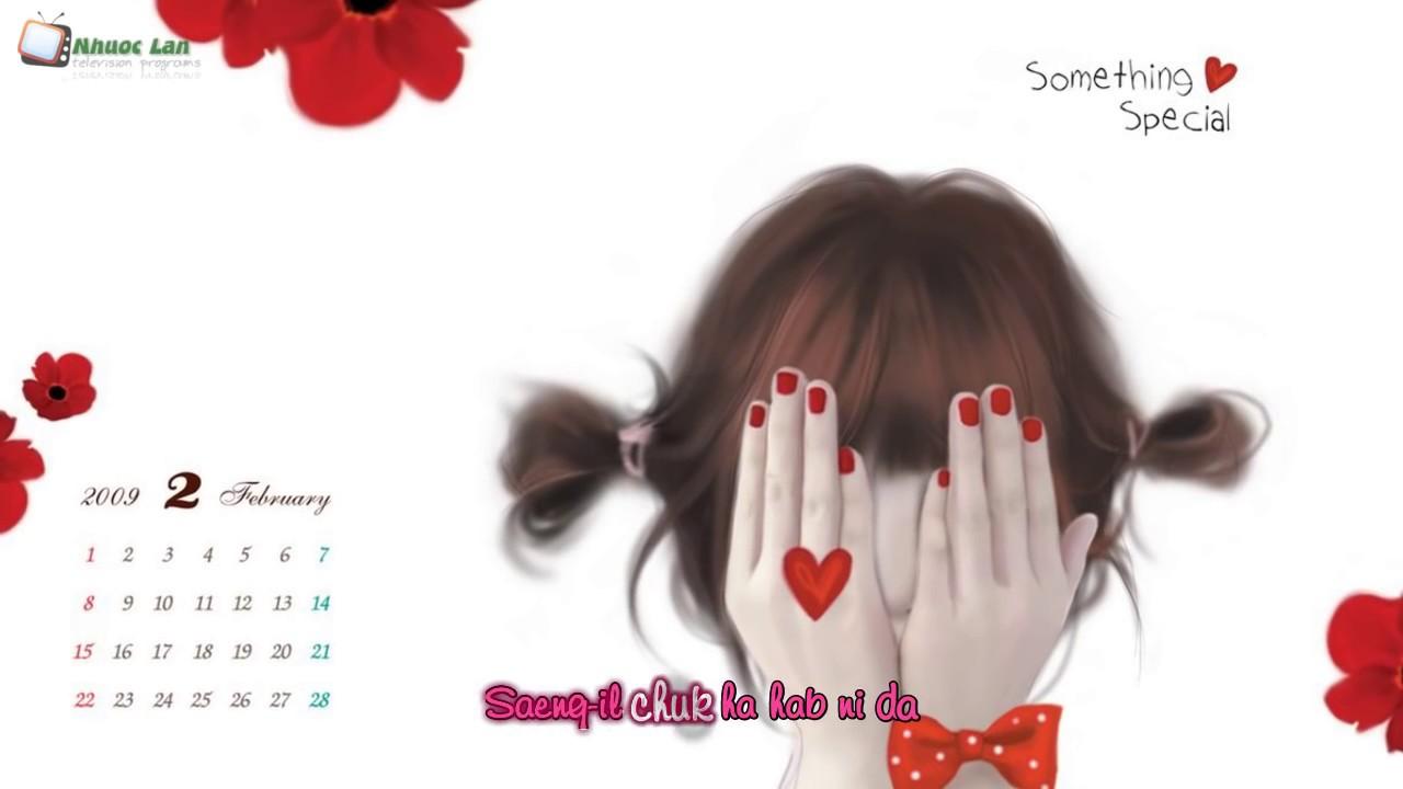 Chúc Mừng Sinh Nhật Tiếng Hàn Dễ Thương [ Video + Lyric ]
