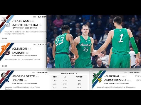 Marshall vs West Virginia Top Pick 3/18/18 March Madness College Basketball NCAA