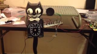 Kit-Cat clock audio test