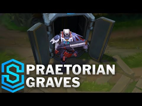 Praetorian Graves Skin Spotlight - Pre-Release - League of Legends