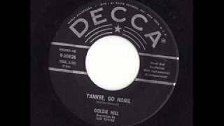 Goldie Hill with Red Sovine - Yankee Go Home