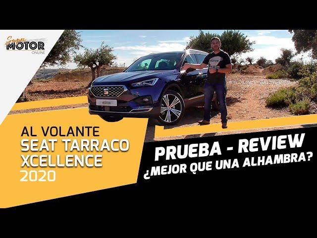Al volante del Seat Tarraco Xcellence 2020 / SuperMotor.Online / T5 - E35