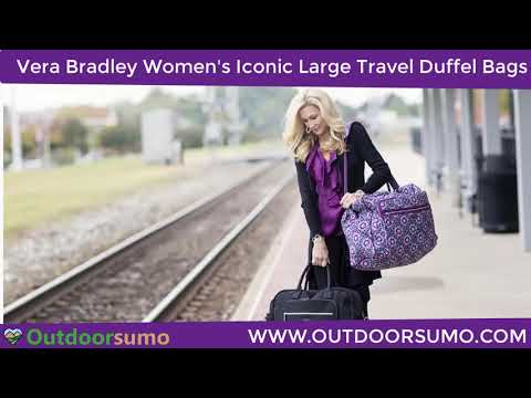 Vera Bradley Microfiber Large Travel Duffle Bag Reviews and Buying Guide by outdoorsumo