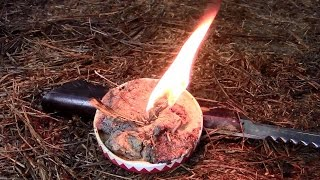 Natural Fuel- Strong fire within seconds!