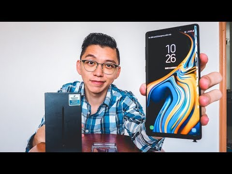 Samsung Galaxy Note 9 UNBOXING (NOT CLONE)