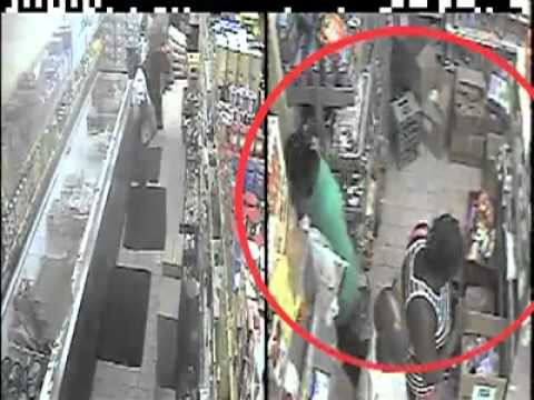 Shoplifter was caught on cctv concealing jewelry - 1 1