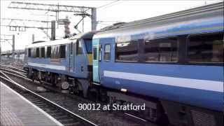 Diesel and Electric Train Highlights January to March 2013