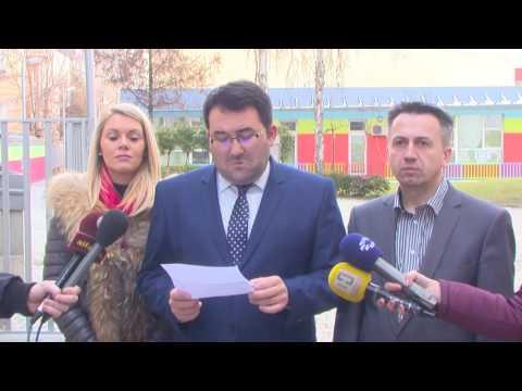 ВМРО-ДПМНЕ: Новата градинка во општина Центар изградена неквалитетно