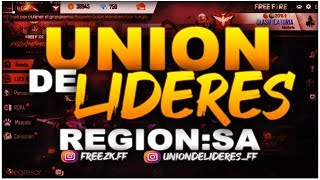 🏆 TORNEO UNIÓN DE LIDERES de FREE FIRE | TORNEO FEMENINO y CLANES 🏆 thumbnail