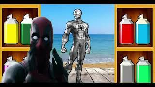 Wrong Superheroes Colour Puzzle | Dancing Superhero ❤️ Spider man 💚 Hulk - Memes Coffin Dance Cover