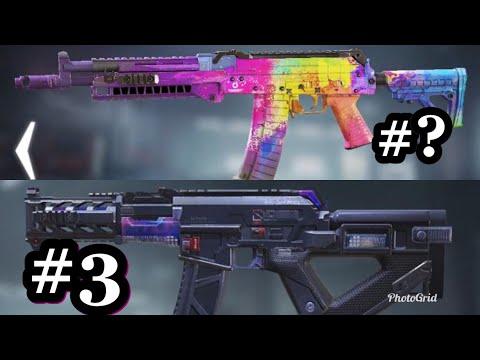 Top 10 Best AK117 Skins COD Mobile