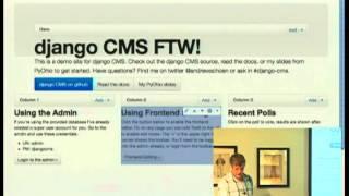 django-cms: Friends don't let friends use Drupal.