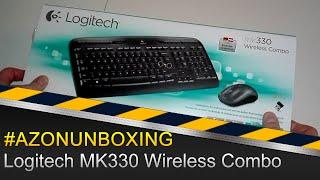 Logitech MK330 Wireless Combo Tastatur und Maus - #AZONUNBOXING Deutsch/German