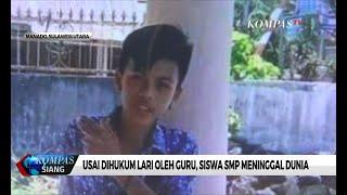 Siswa SMP Meninggal Usai Dihukum Lari Oleh Guru