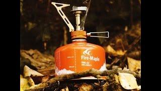 Обзор  туристической газовой горелки Fire-Maple FMS-103...
