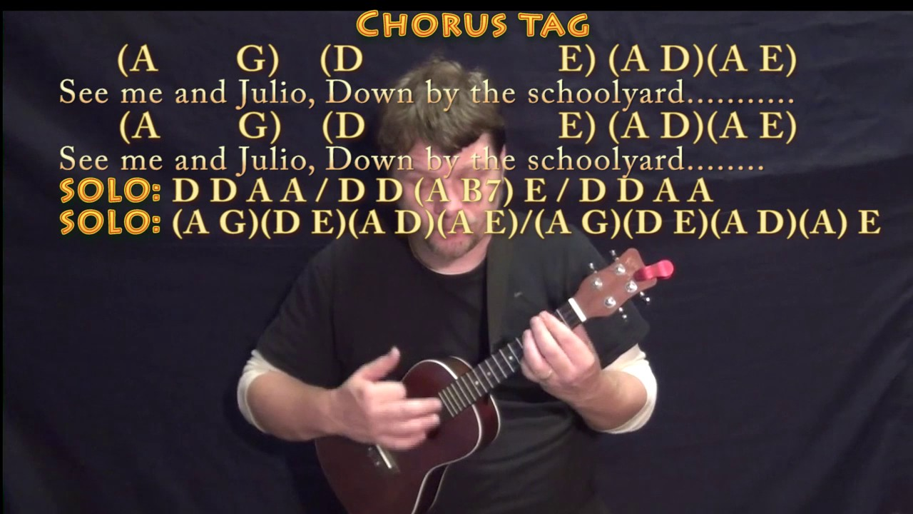 Me And Julio Down By The Schoolyard Paul Simon Ukulele Cover