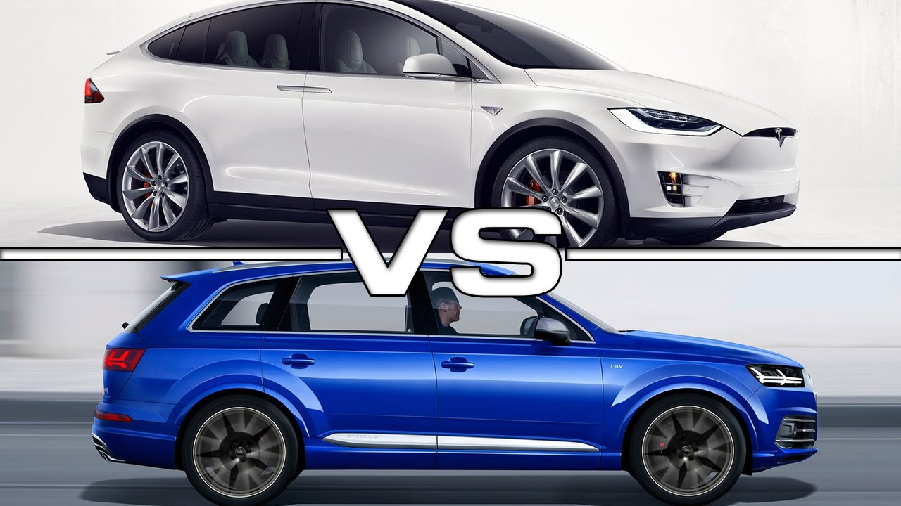 Tesla Model X Vs Audi Sq7