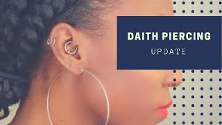 Daith Piercing Update + How I Clean My Piercing