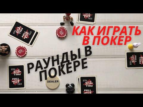 Как играть в покер. Покерный расклад или пример хода раздачи в холдеме. Раунды в покере.