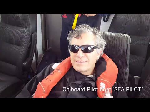 """Pilot Boat """"SEA PILOT"""" - Disembarking Pilots/ """"PARADISE CITY"""" - GUNS N' ROSES - Cover by TYLER ROSEN"""
