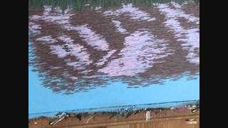 Видео 5 части 12, как рисовать горы и озеро с акрилом(Как рисовать горы и озеро с акрилом на холсте. В этом видео я объяснить каждый шаг живопись процесс скалы,..., 2011-08-27T10:09:39.000Z)