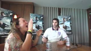 """Interview Sacha Baron Cohen as """"Nobby"""" with The Power 96 Morning Show"""